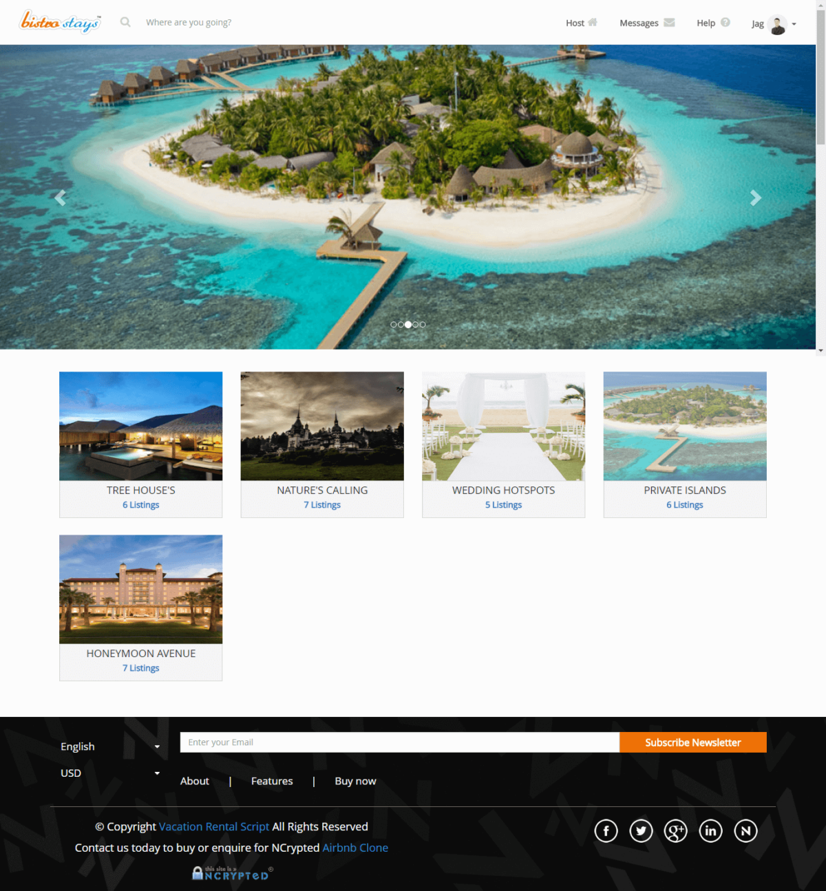 AirBNB Clone Script PHP Open Source Helps you to Start your